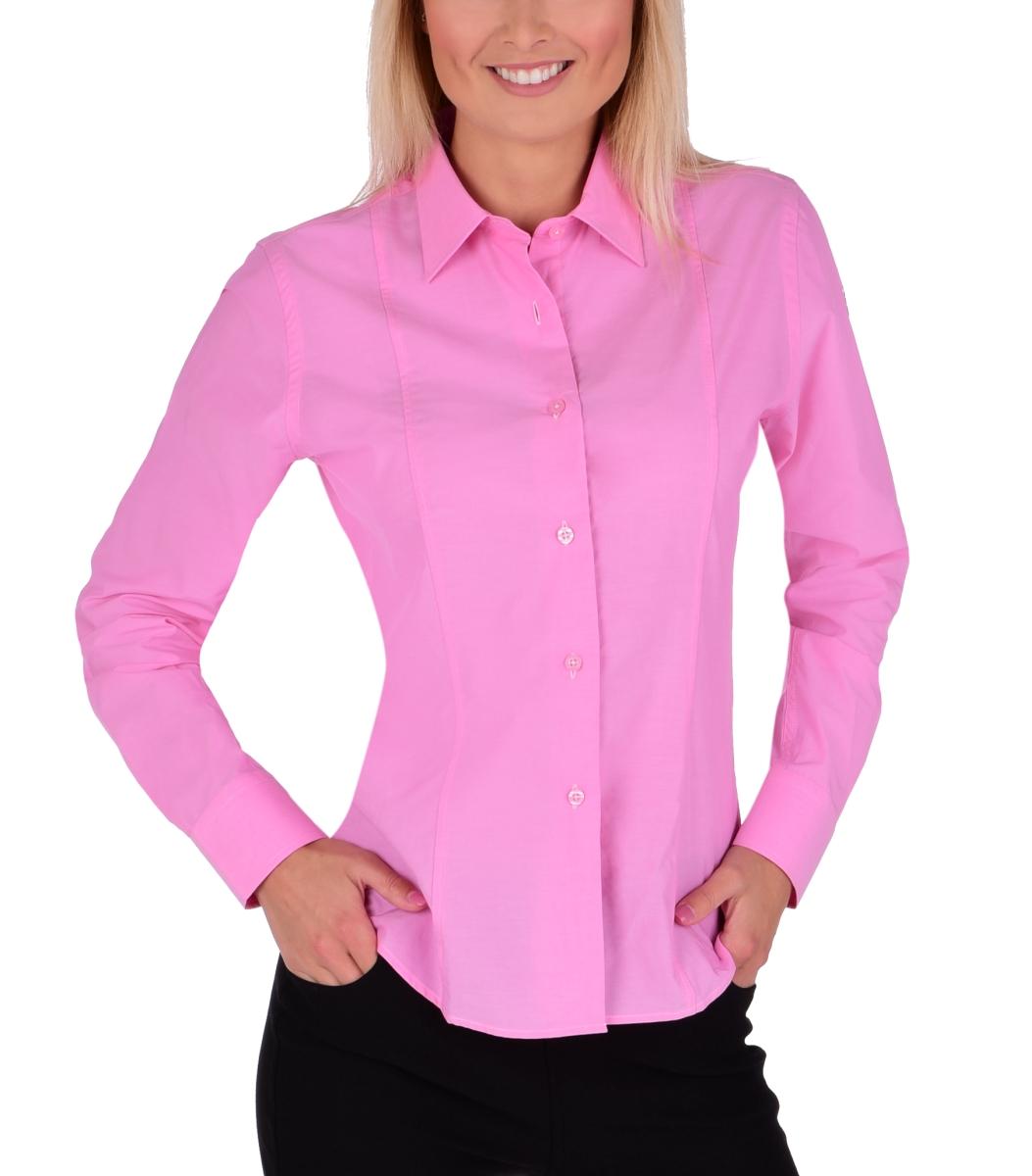 SOPHIA košile  slim fit s dlouhým rukávem pink vel. L