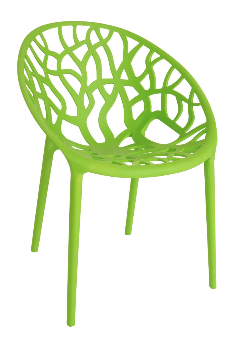 Designová židle  ARBOREAL green