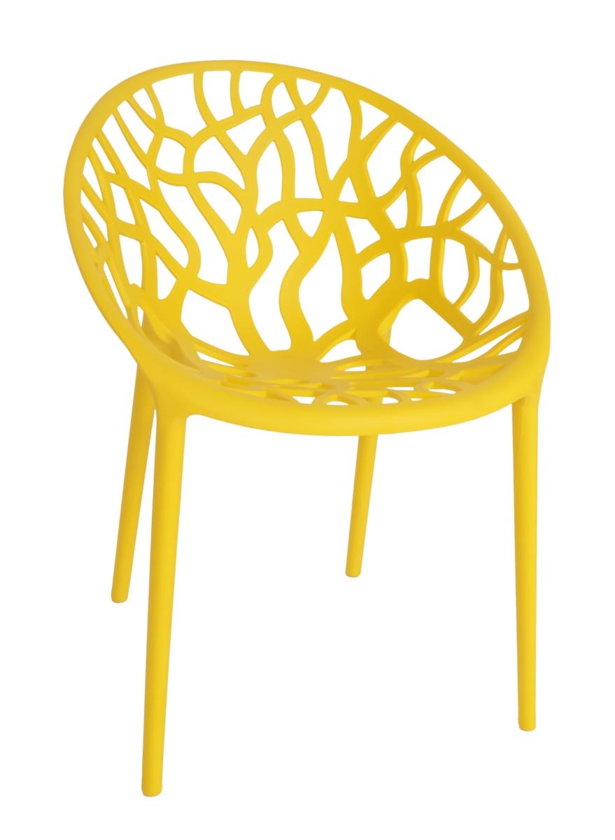 Designová židle  ARBOREAL yellow