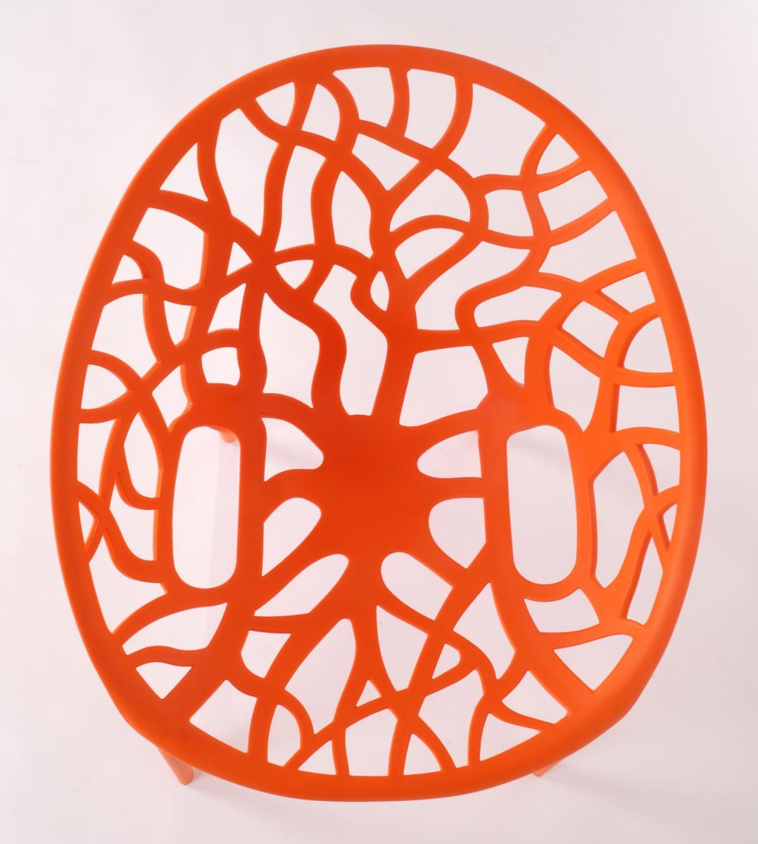 Designová židle  ARBOREAL orange