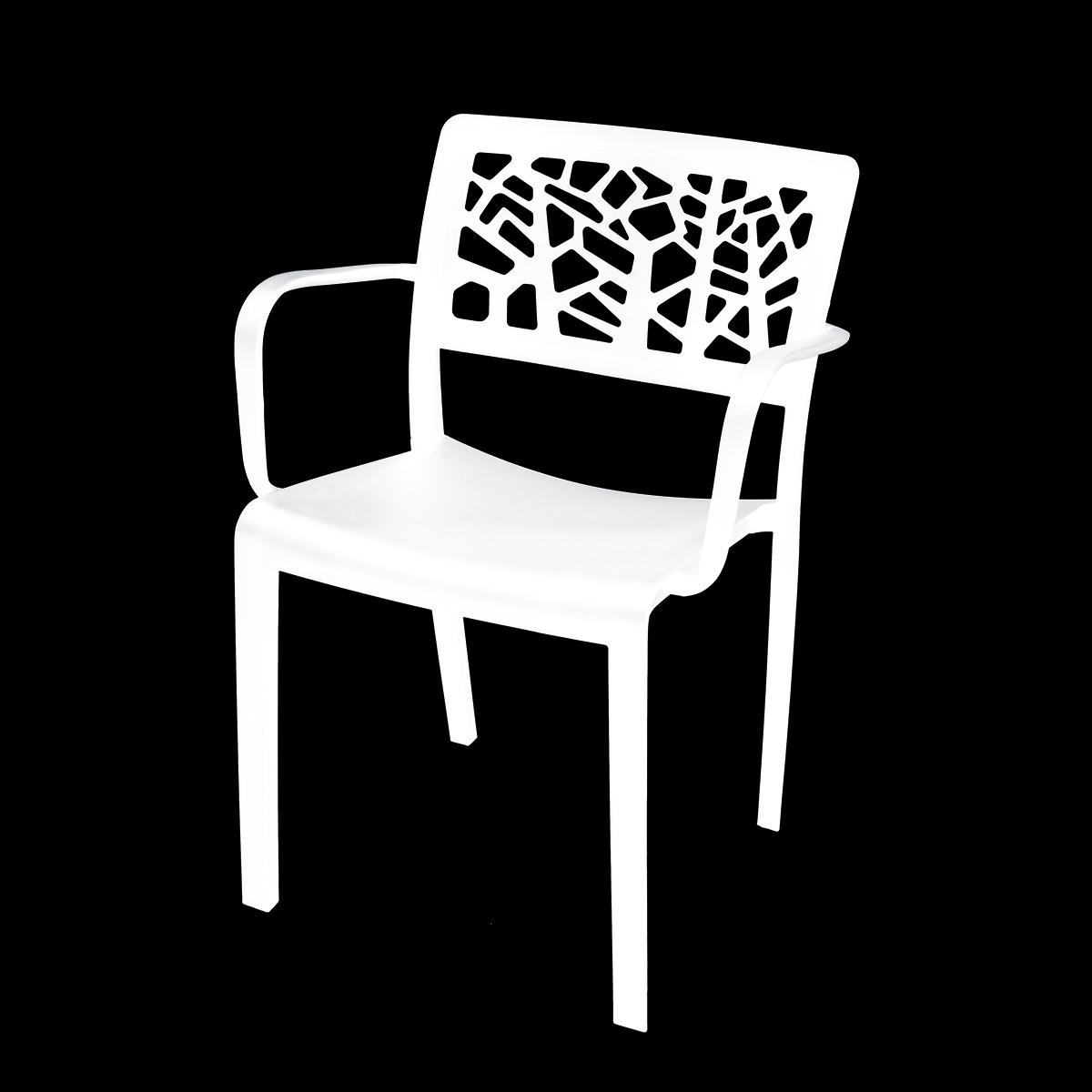 Designová židle LORIEN white