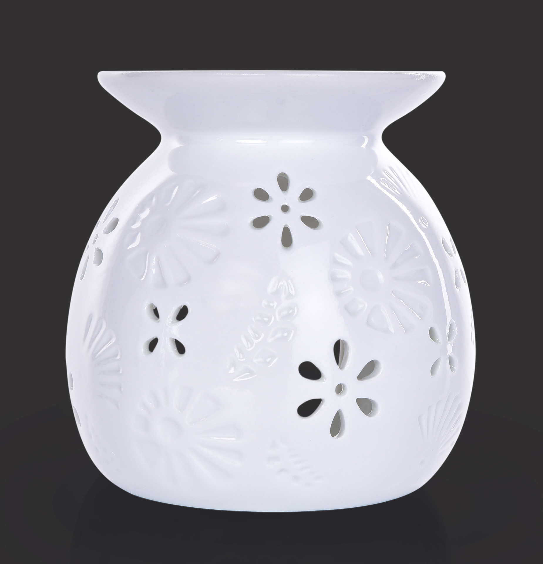 Keramická aromalampa, na čajové svíčky