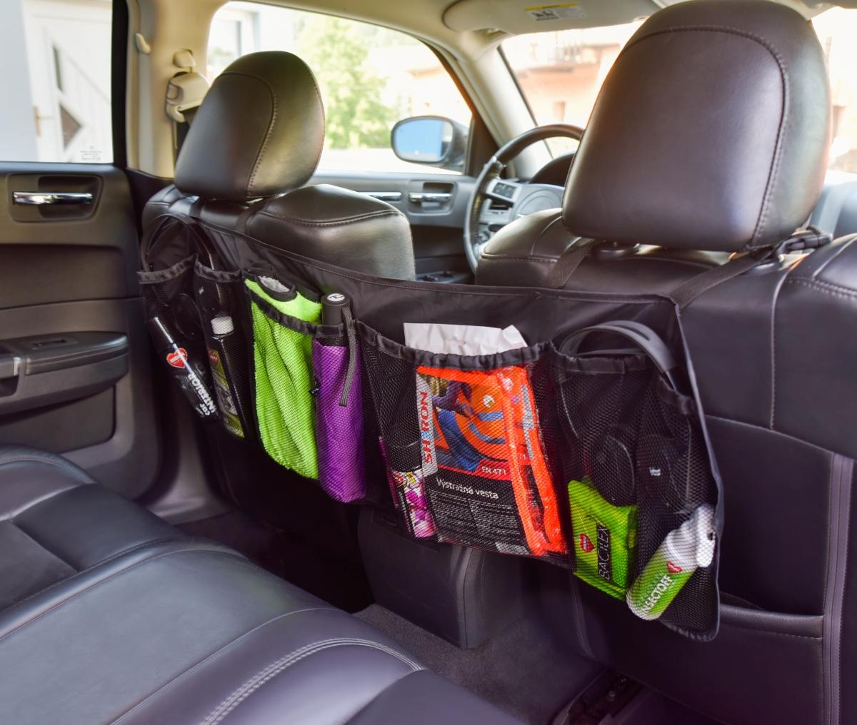 XL kapsář do kufru auta, na zadní sedadla