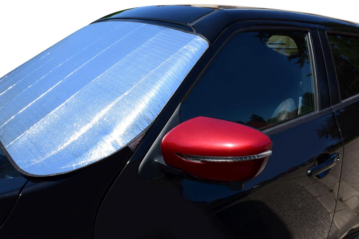 DA22541-XXL Mrázová / SLUNEČNÍ CLONA na čelné sklo auta