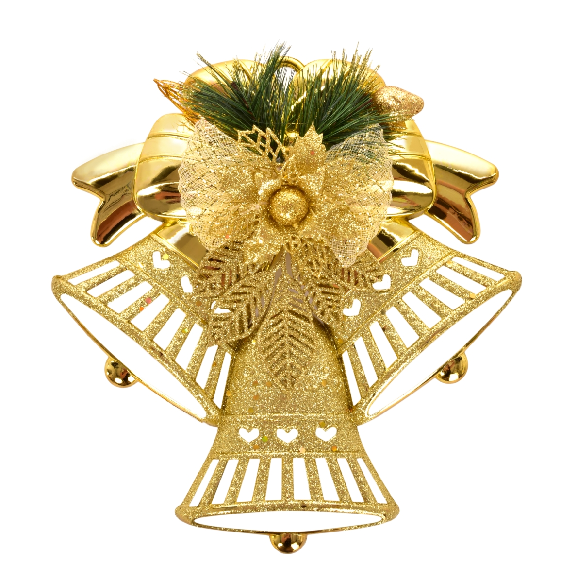 XL závěsná dekorace ve tvaru tří zvonků