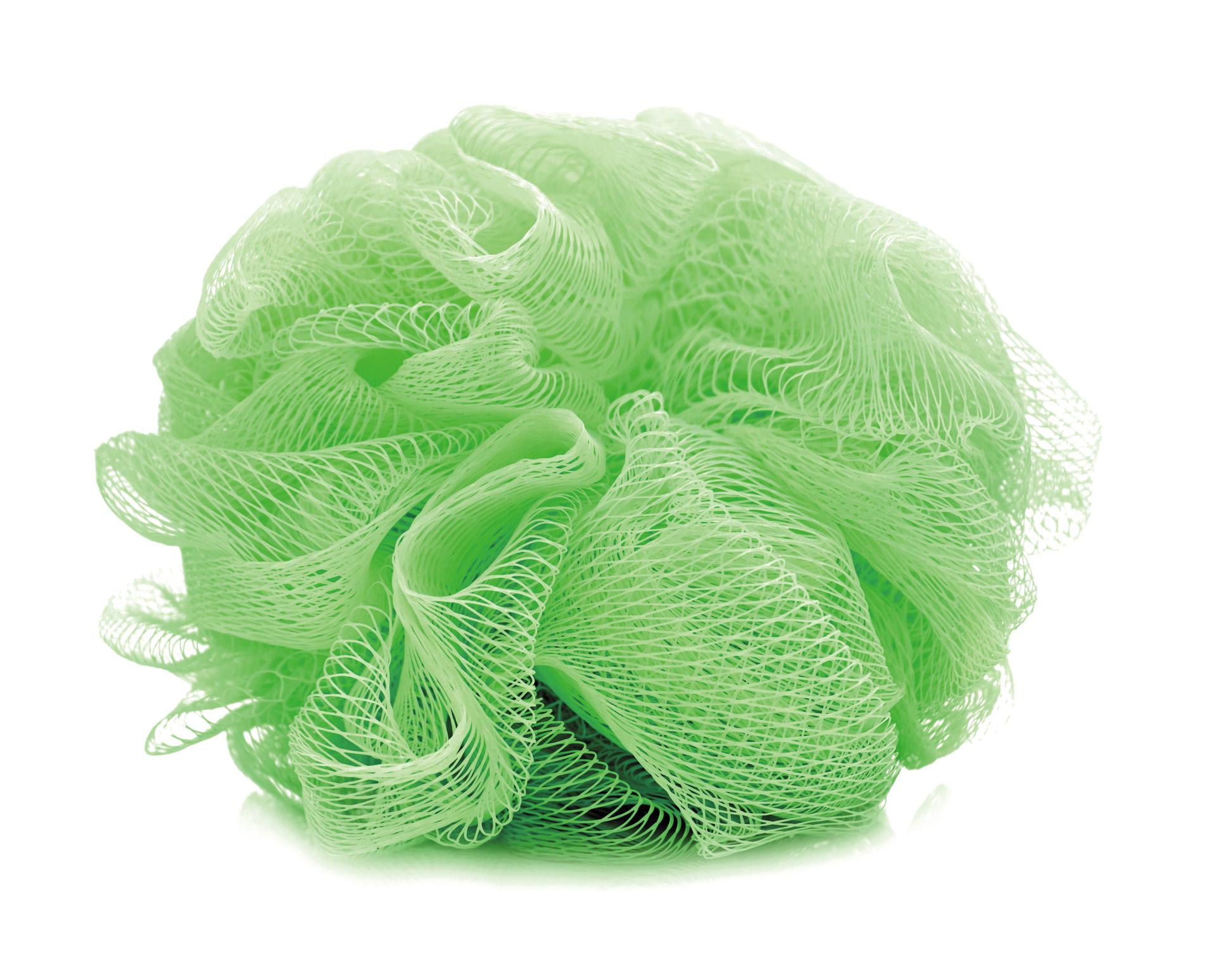 PUFF na mytí, zelený,