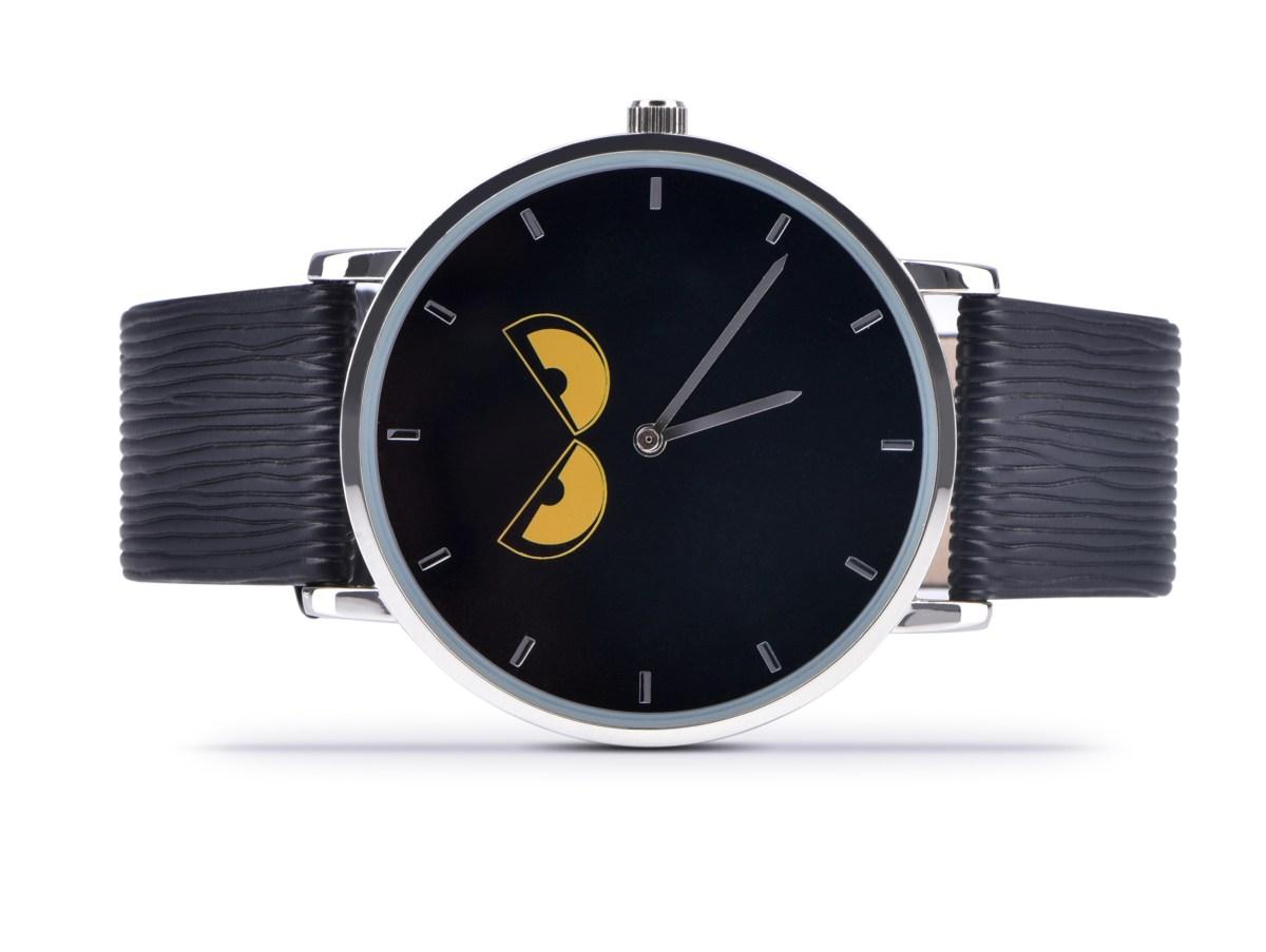 REBELITO® náramkové hodinky ručičkové čierne