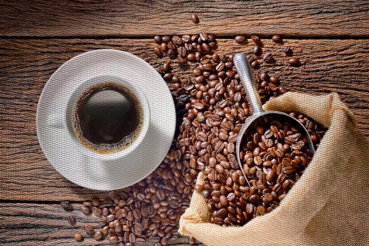 DESIGNOVÉ PROSTÍRÁNÍ omyvatelné s foto potiskem  coffee