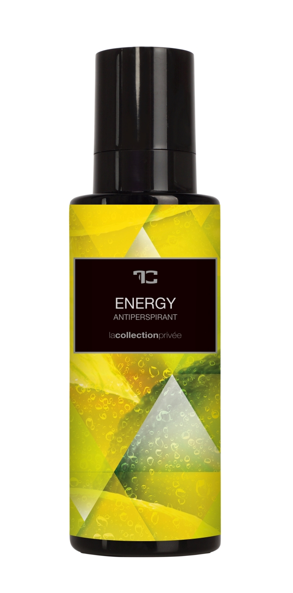 ANTIPERSPIRANT SPRAY energy, LA COLLECTION PRIVÉE
