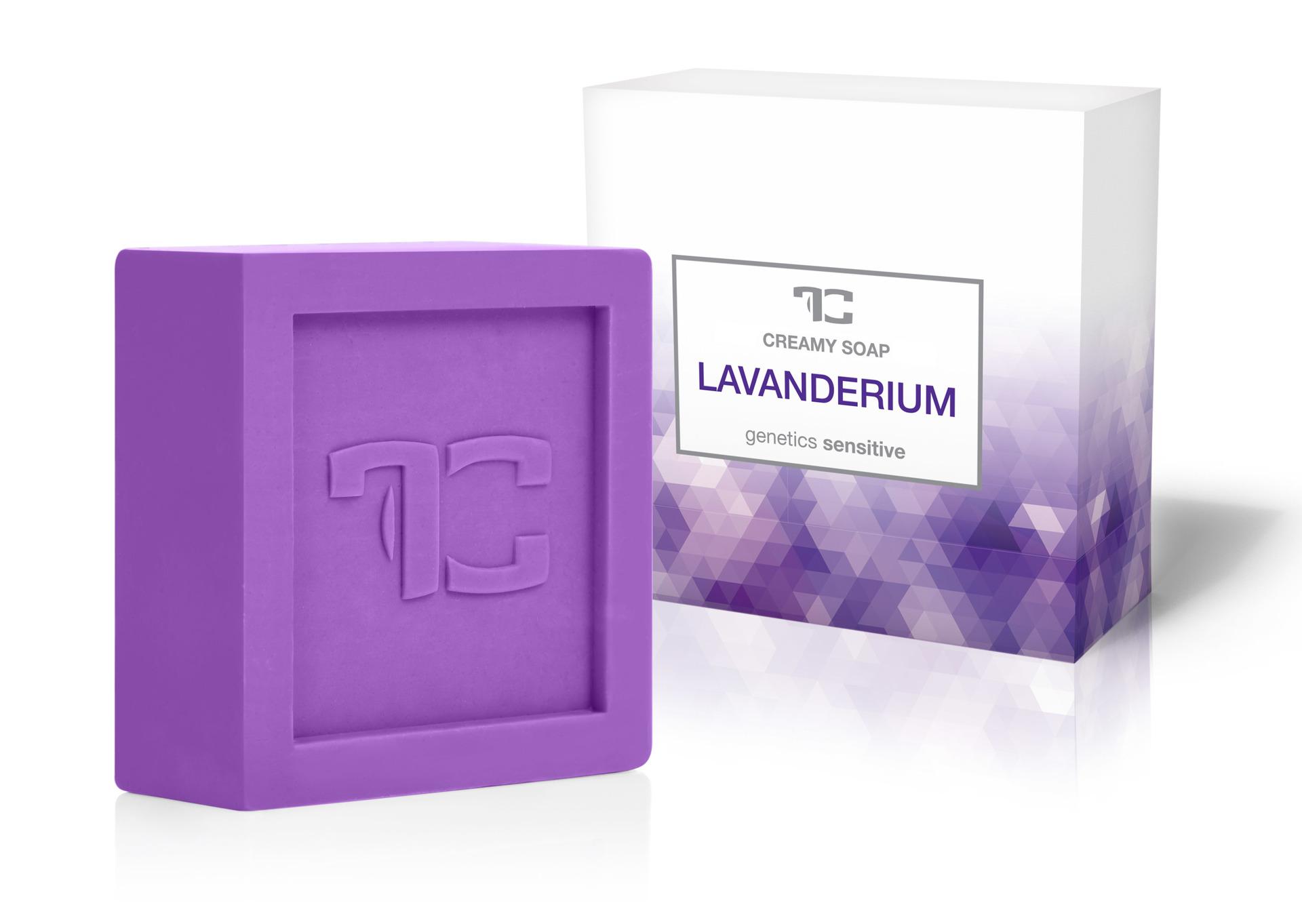 LAVANDERIUM rostlinné krémové mýdlo s levandulovým extraktem