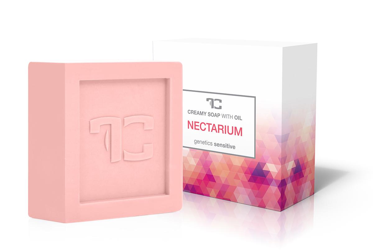 NECTARIUM rostlinné krémové mýdlo s broskvovým olejem