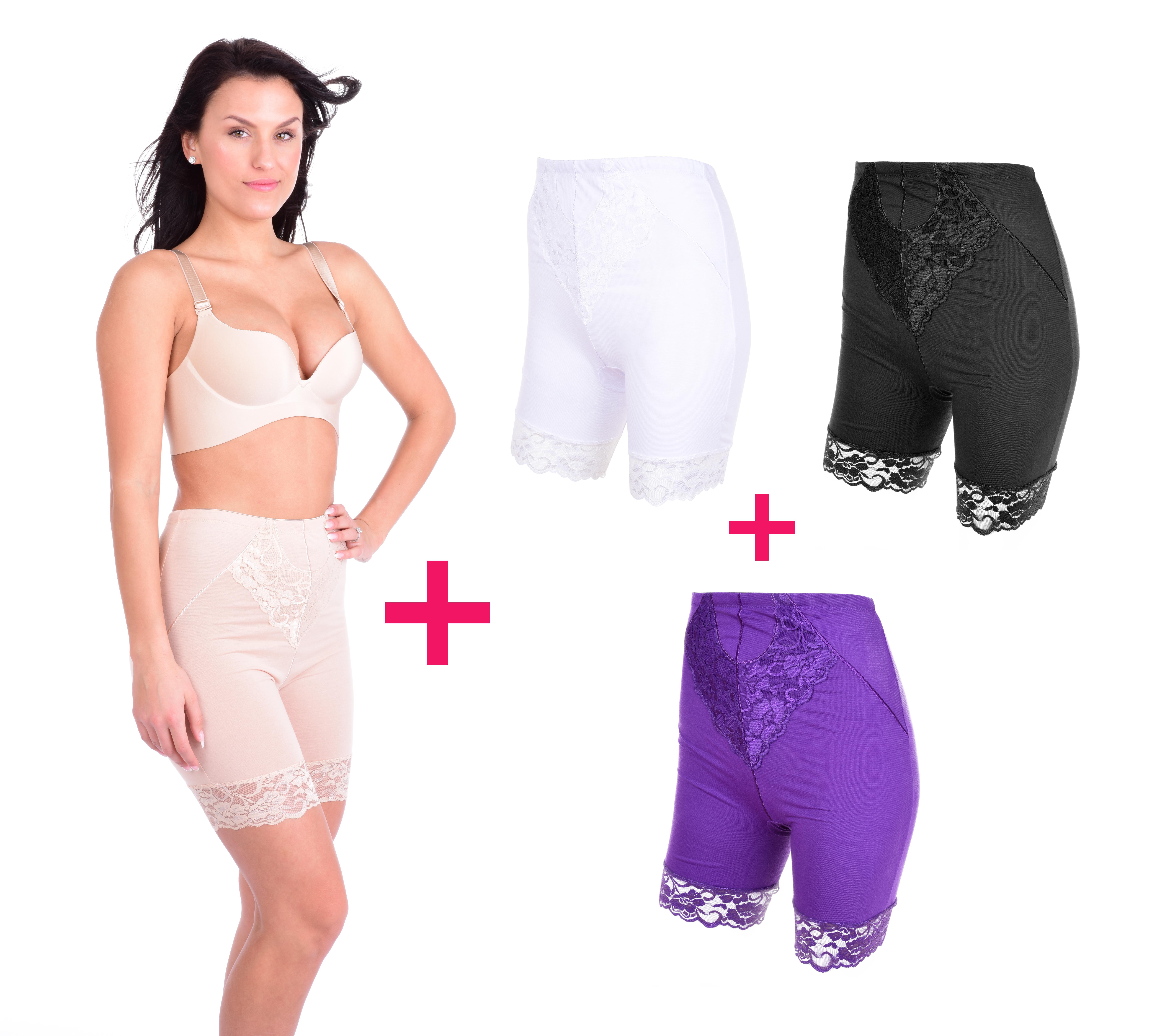 3+1 ZDARMA BRIDGET LONG kalhotky s nohavičkami vel. 1(M)
