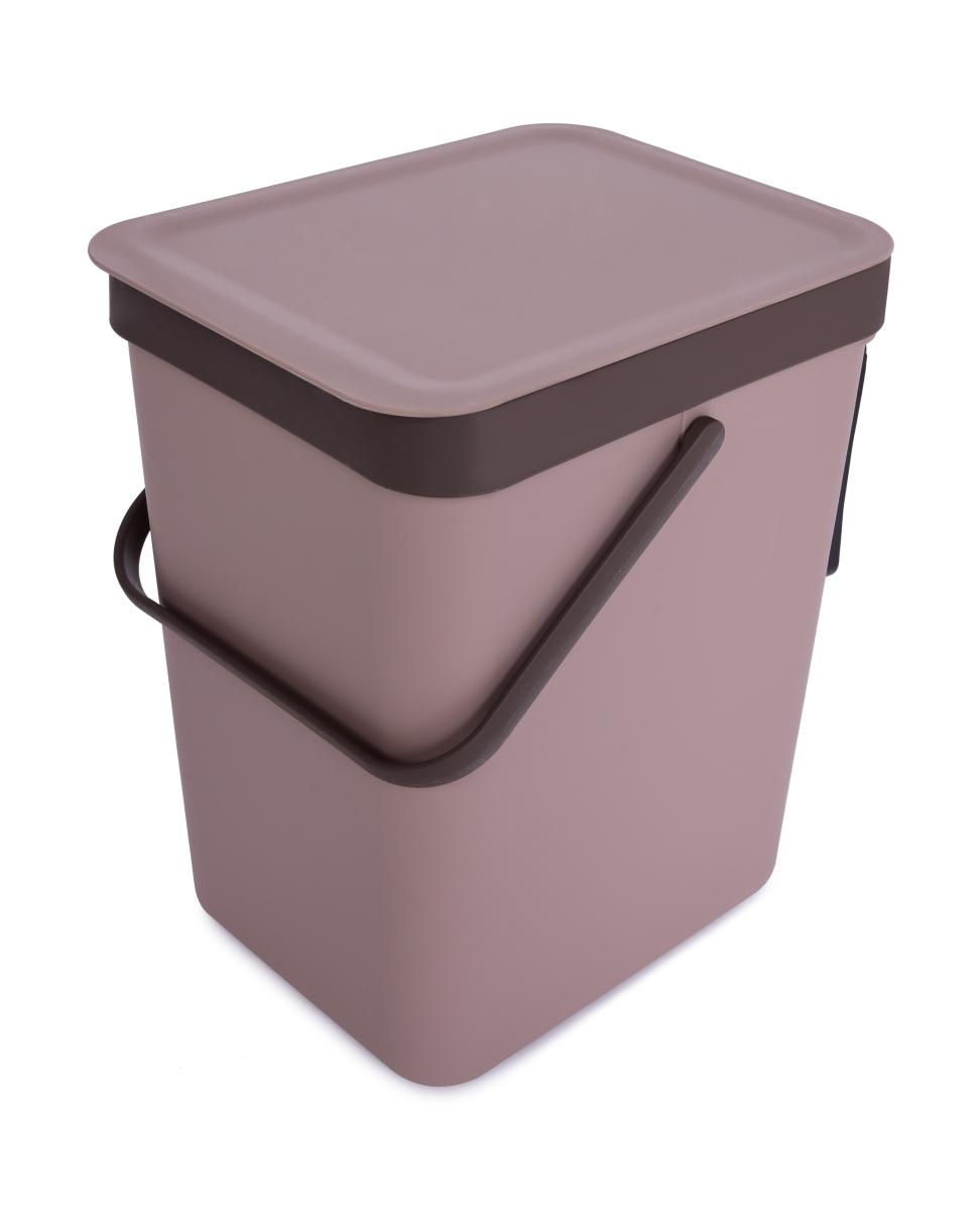 16 L závěsný odpadkový koš s odklápěcím víkem a uchem