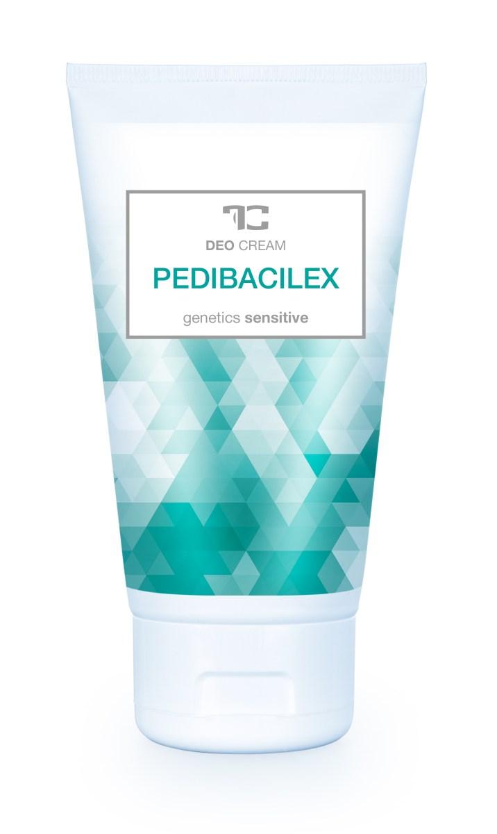 PEDIBACILEX deo cream nemastný osvěžující krém na nohy s deodorační přísadou