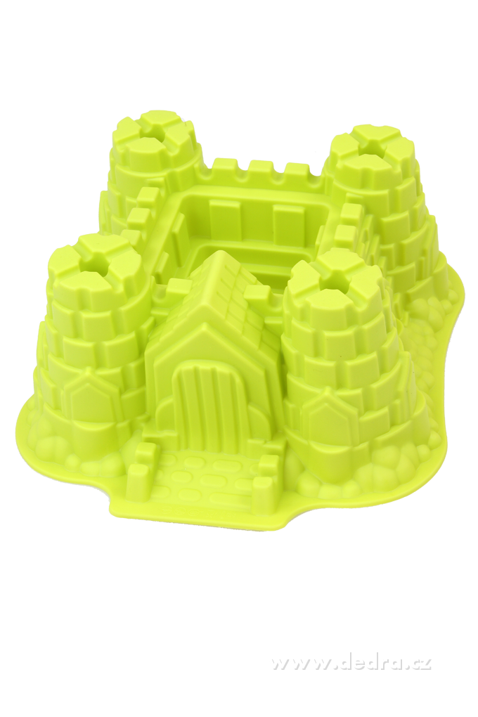 XXL hrad z pohádky, pečící forma GOURMET SILICONE