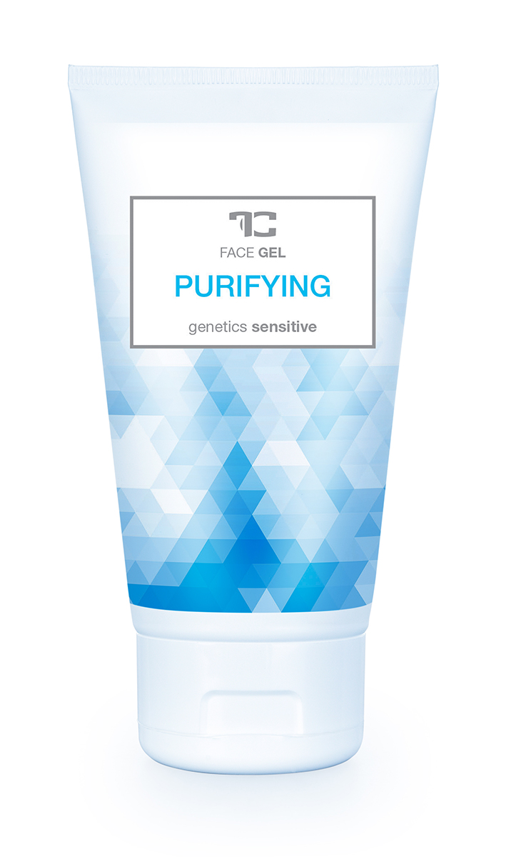 Čisticí pleťový gel PURIFYING genetics sensitive