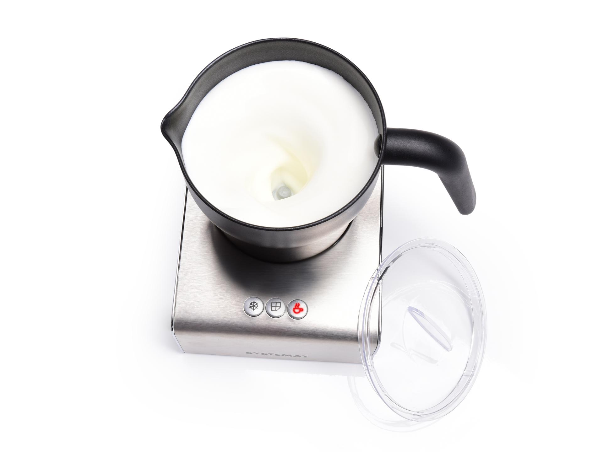 Indukční šlehač a vařič mléka i čokolády VARMIX MILKY, SYSTEMAT