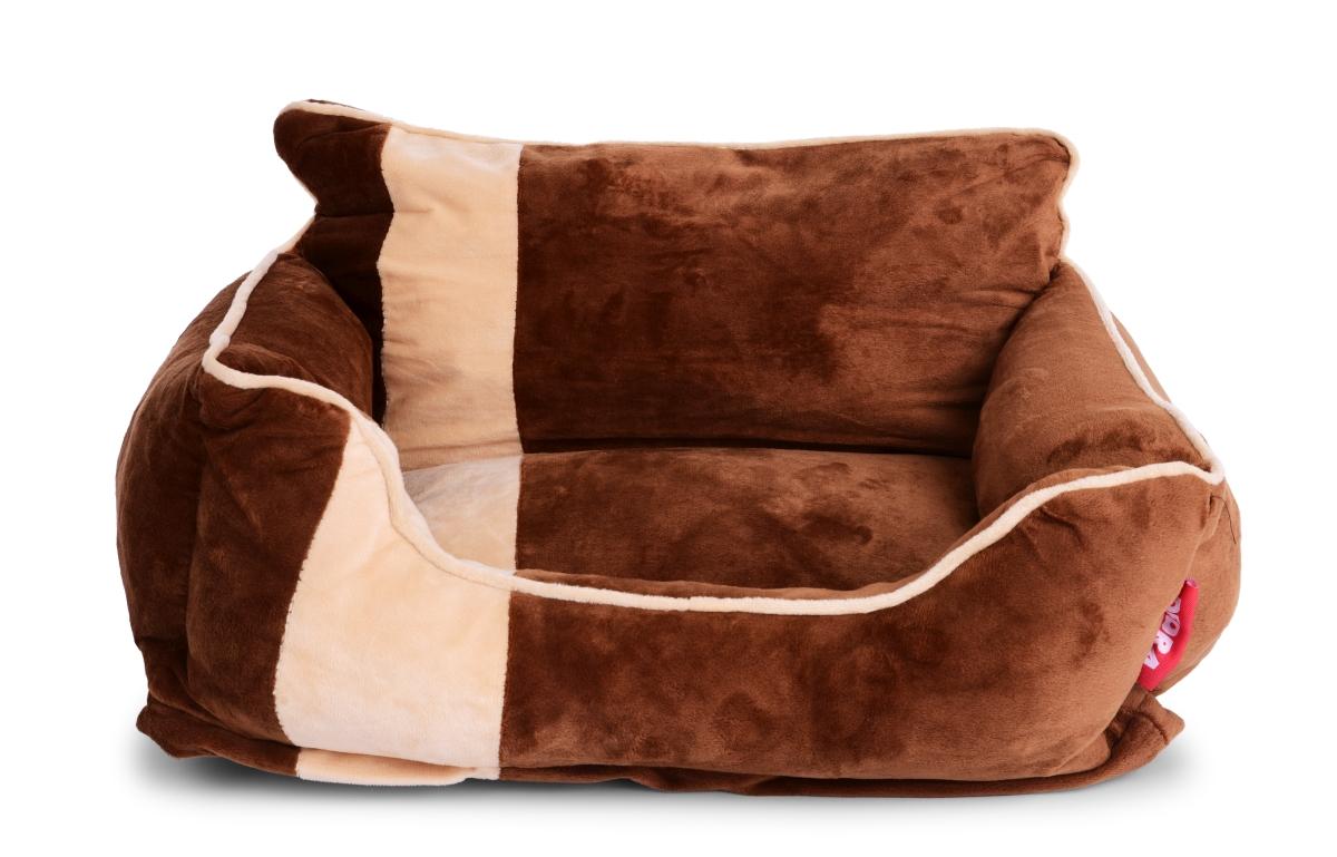 Polstrovaný pelíšek pro domácího mazlíčka vel. M