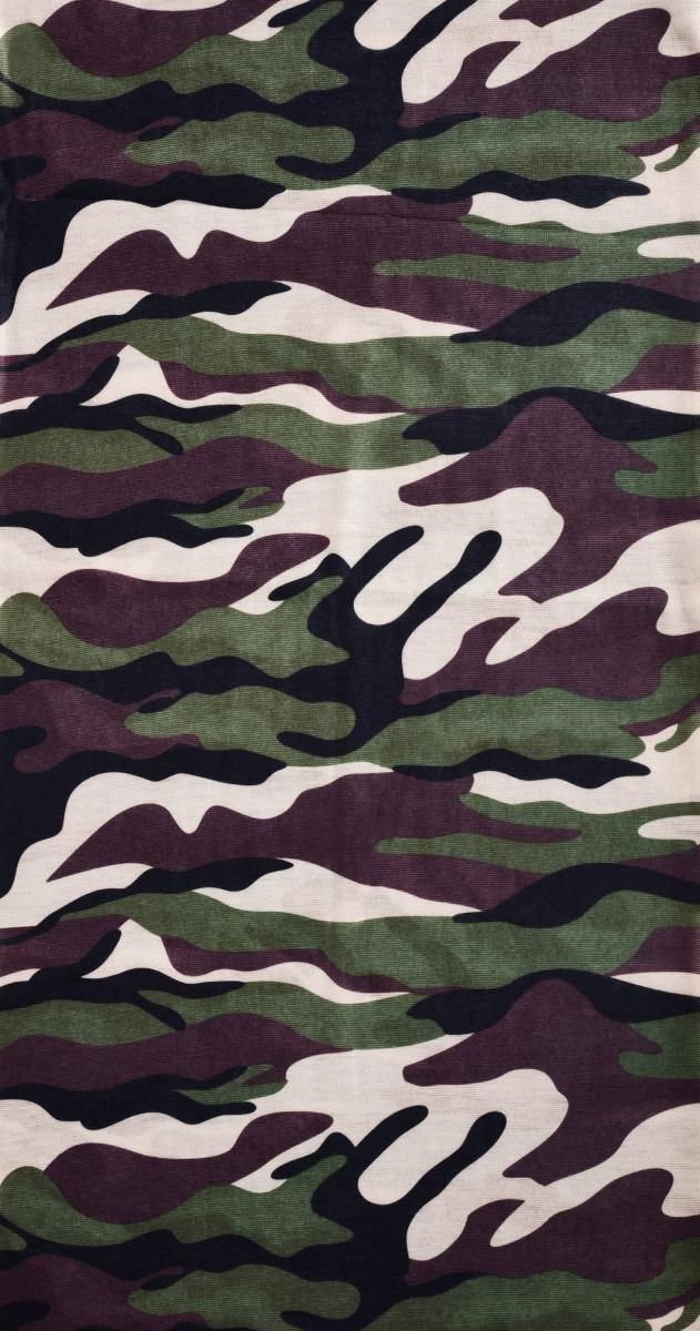 Multifunkční šátek  khaki maskáčový