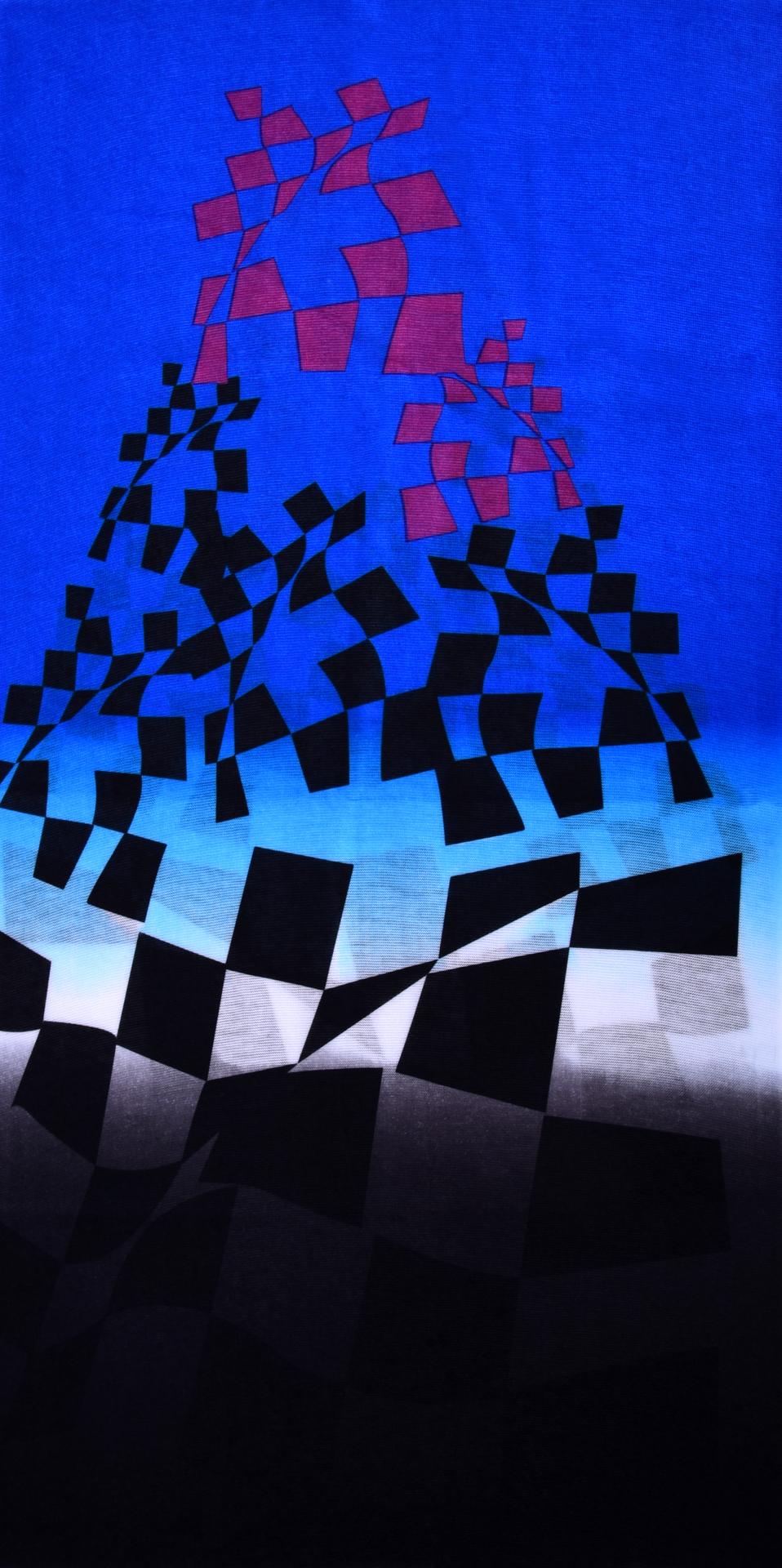 Multifunkční šátek  abstraktní kostky
