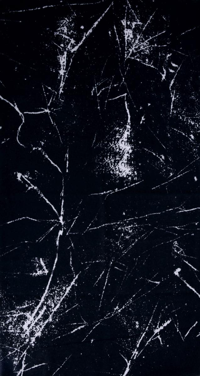 Multifunkčníšátek černý mramorový