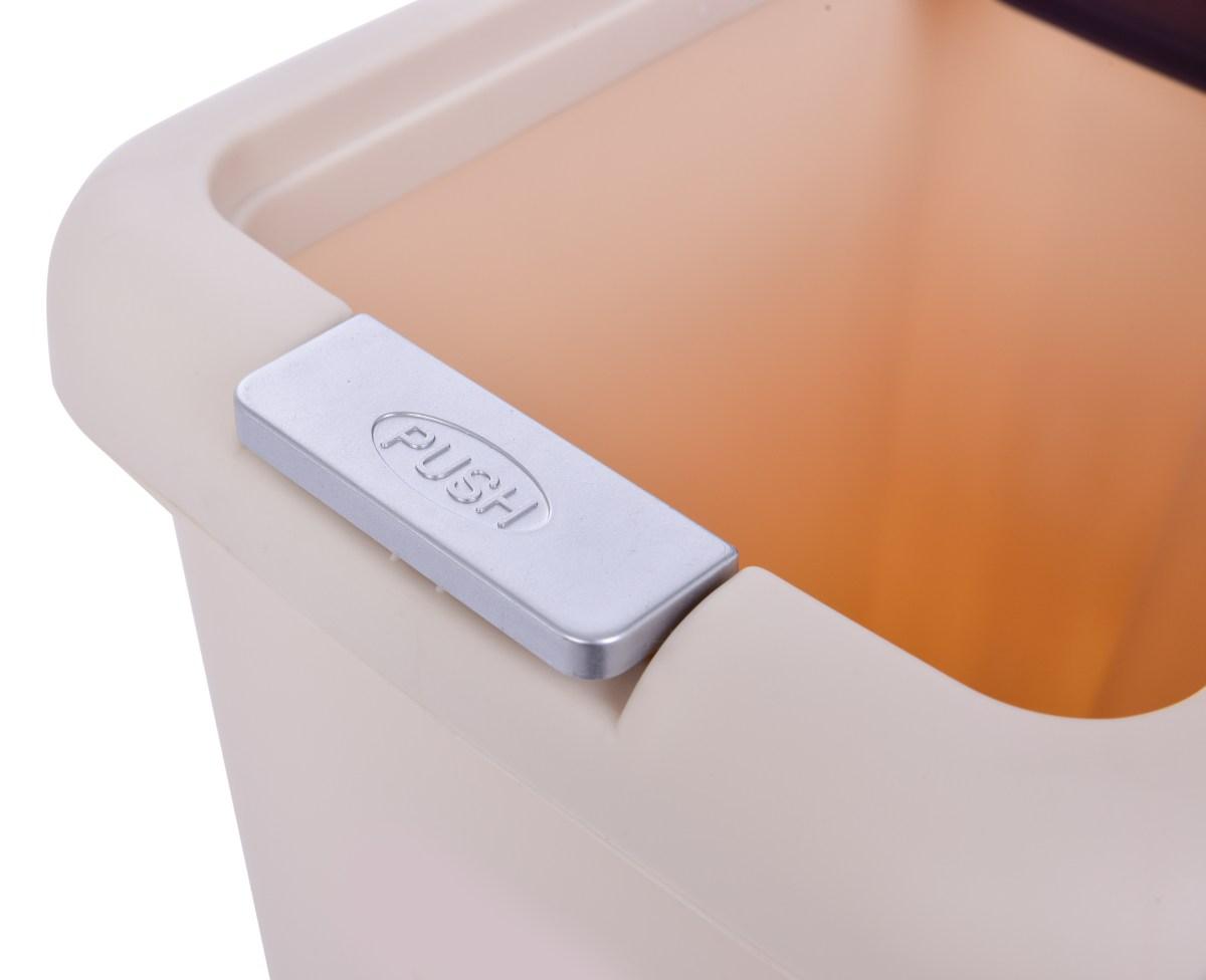 15L odpadkový koš PUSH&STEP