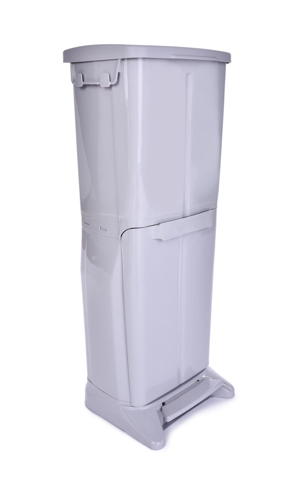 DUO PATROVÝ KOŠ  na tříděný odpad 19 L + 14 L