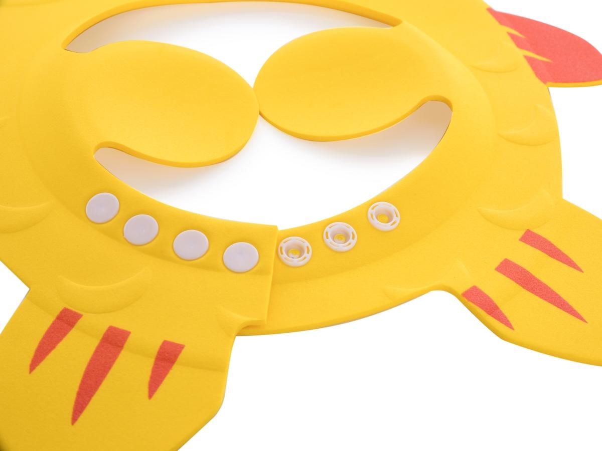 Koupací kšilt pro děti s klapkami, chrání oči a uši při mytí hlavy