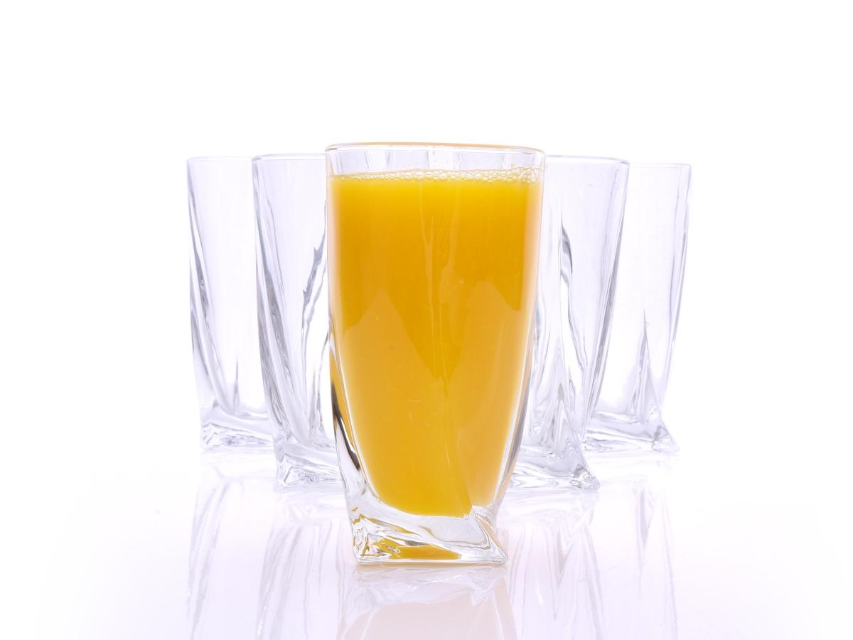 6 ks sada sklenice TWIST, 300 ml