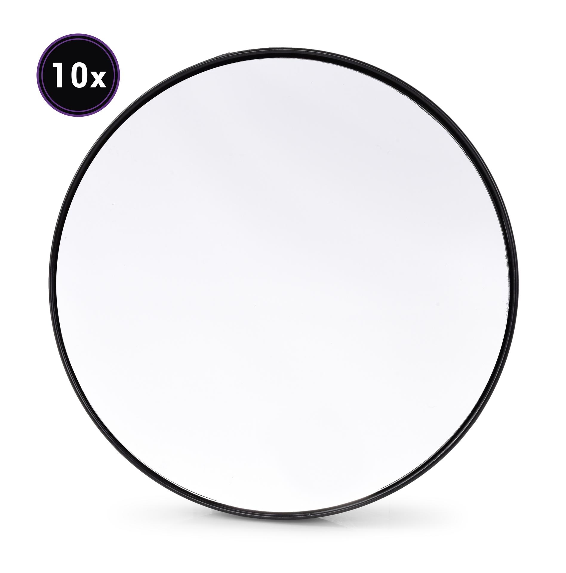 10 krát zvětšovací kosmetické zrcátko s přísavkami, 10x zvětšuje