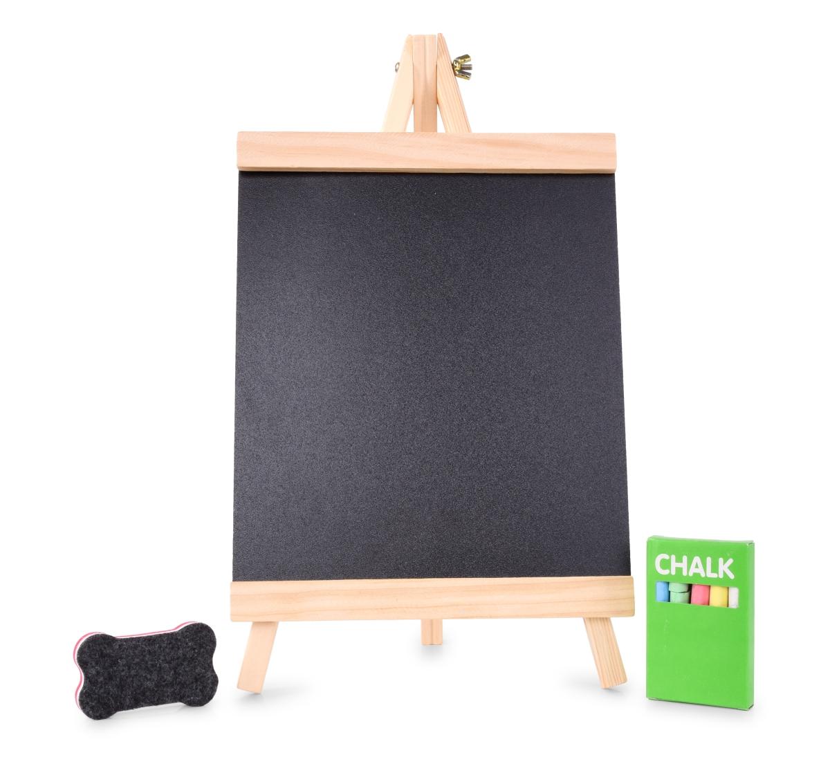 Dřevěná křídová tabule