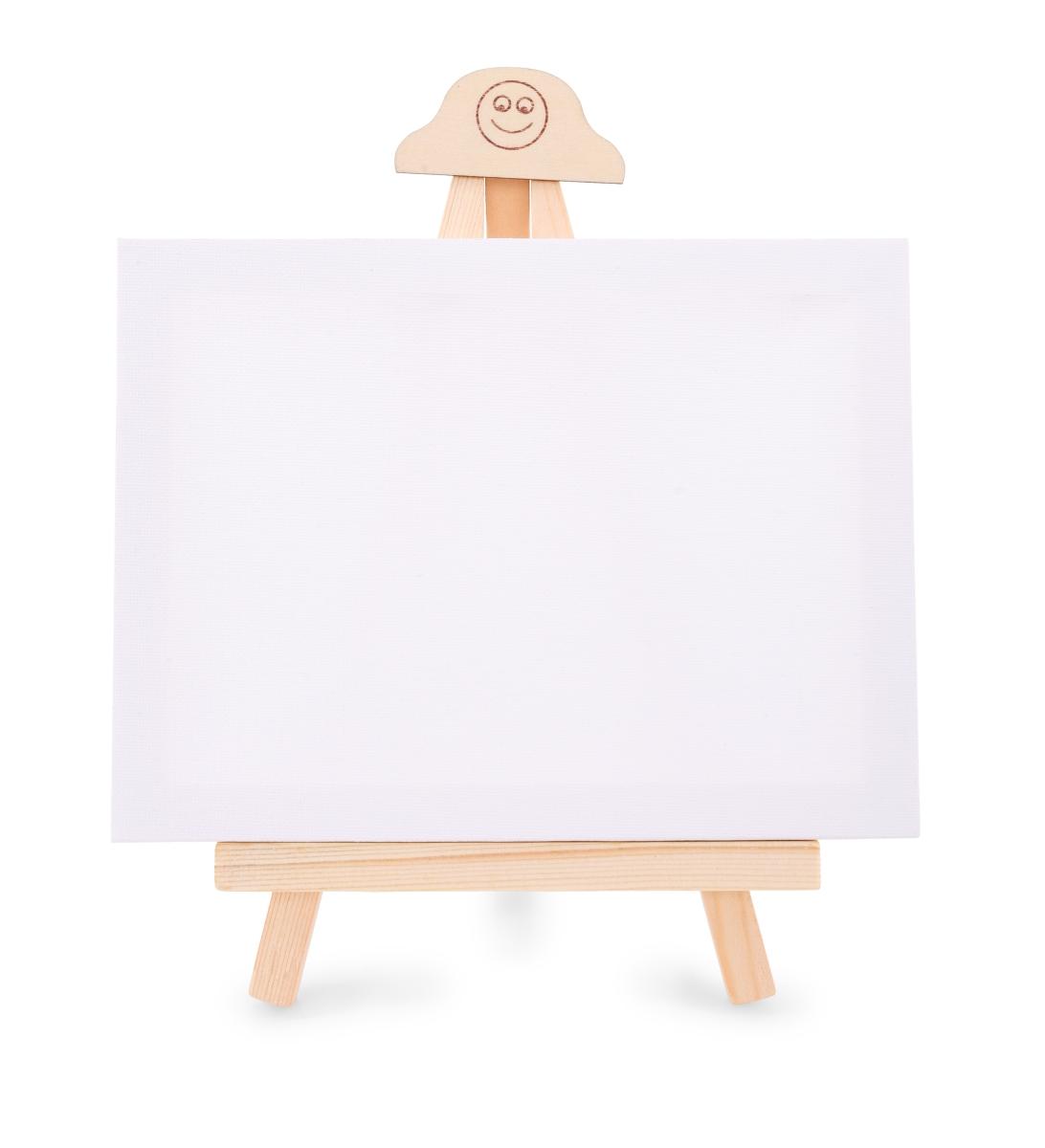 Malířské plátno 20 x 15 cm na dřevěném stojánku