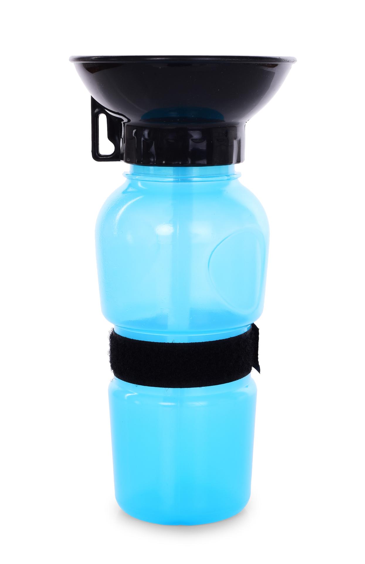 HAFBAR cestovní plastová lahev s miskou