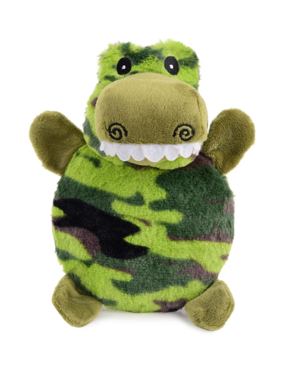Pískací plyšová hračka pro pejsky, krokodýl