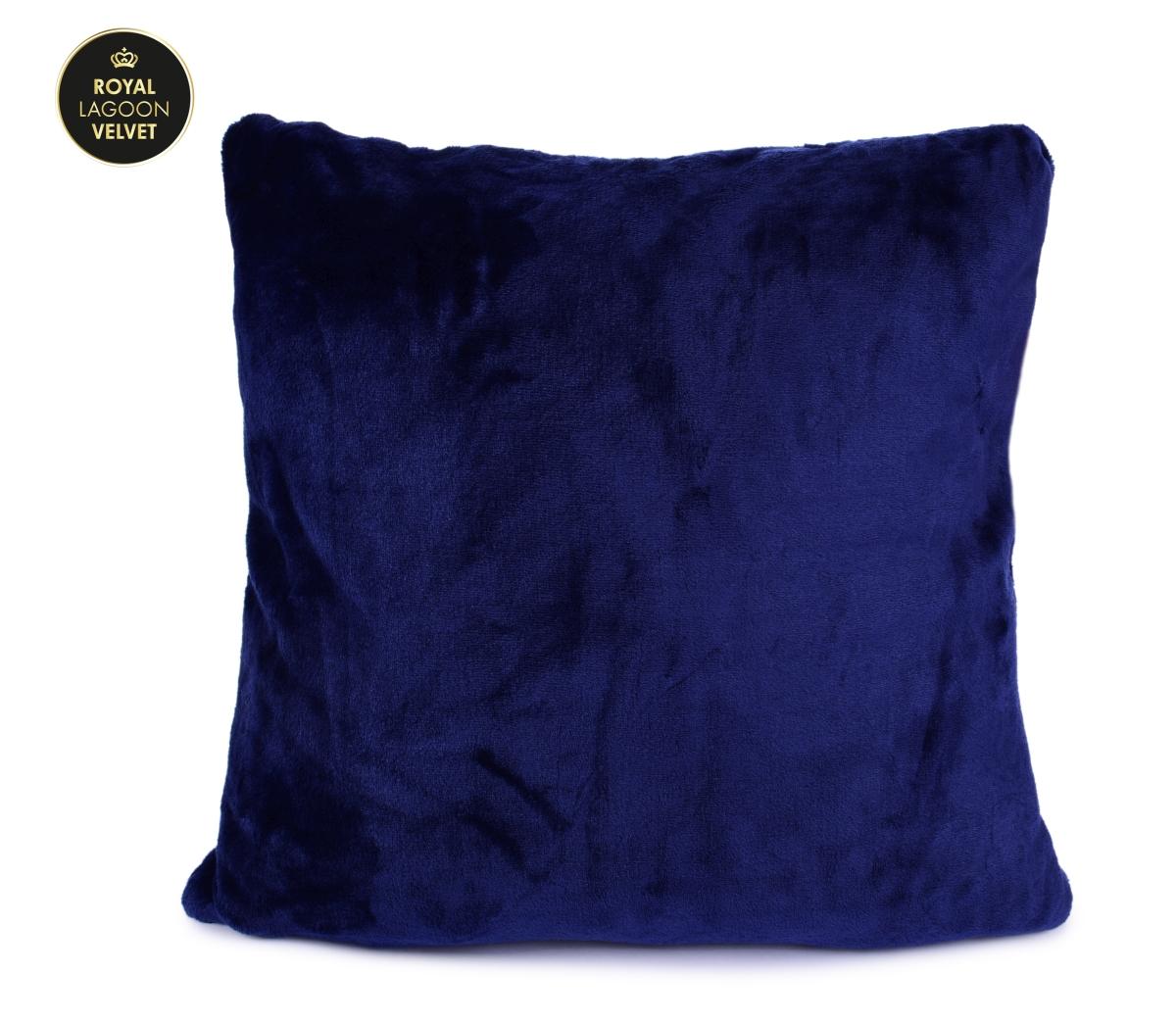 ROYAL LAGOON VELVET potah na polštář královsky modrý