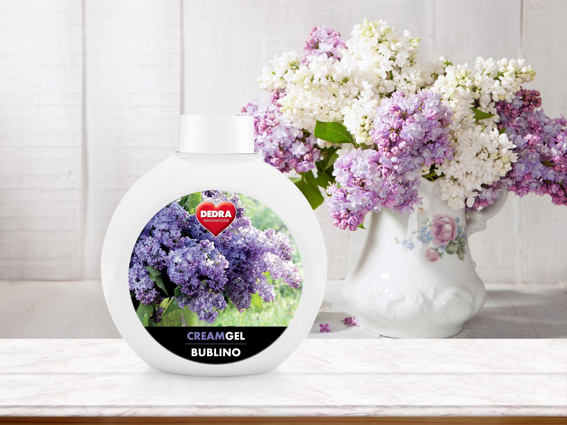 BA0620-Bublino CREAMGEL dolce lilla tekuté mydlo na telo i ruky