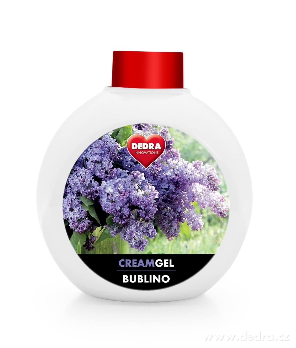 BUBLINO CREAMGEL dolce lilla, tekuté mýdlo na tělo i ruce, bez pumpičky
