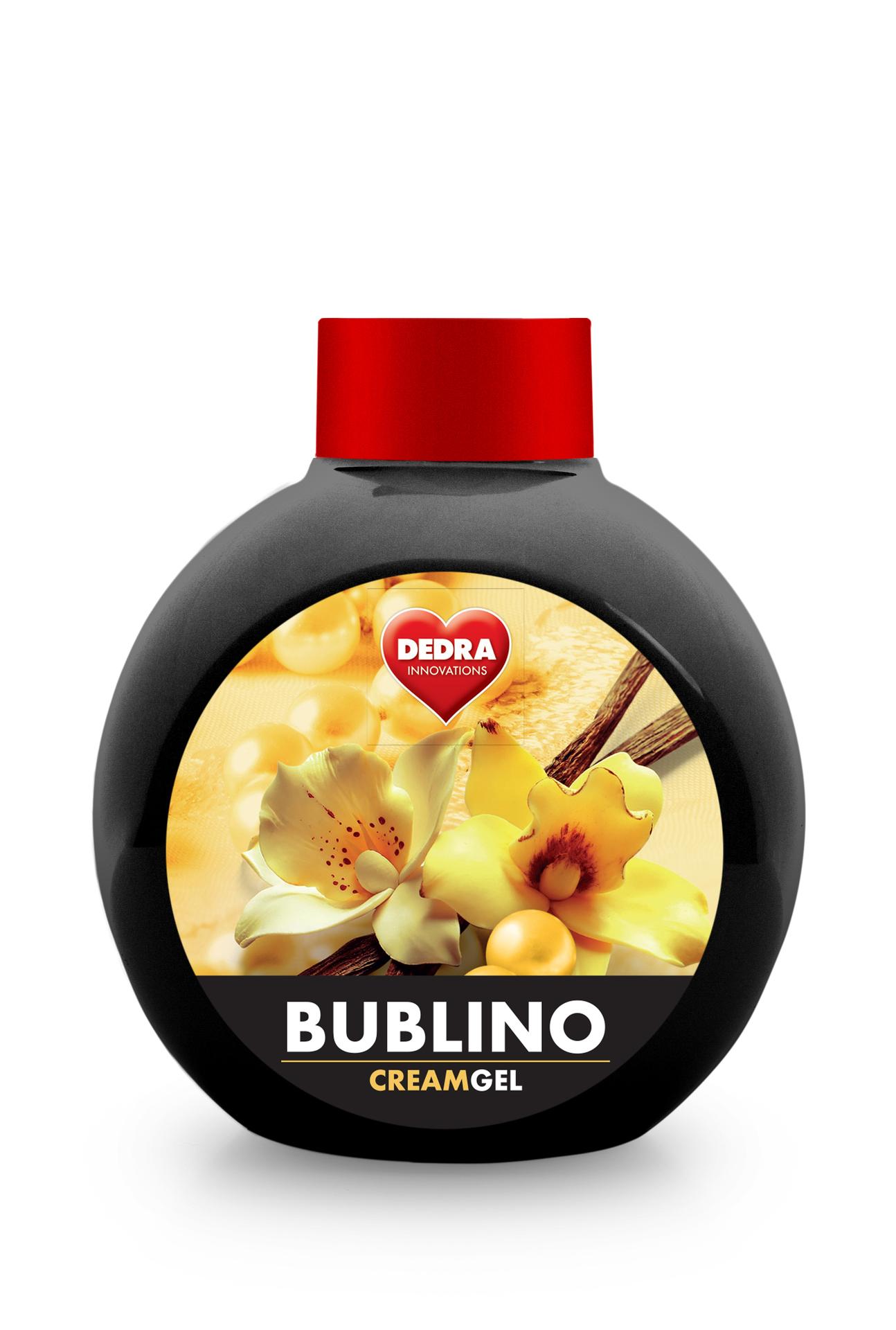 Bublino FLEUR DE VANILLE, tekuté mýdlo na tělo a ruce, bez pumpičky