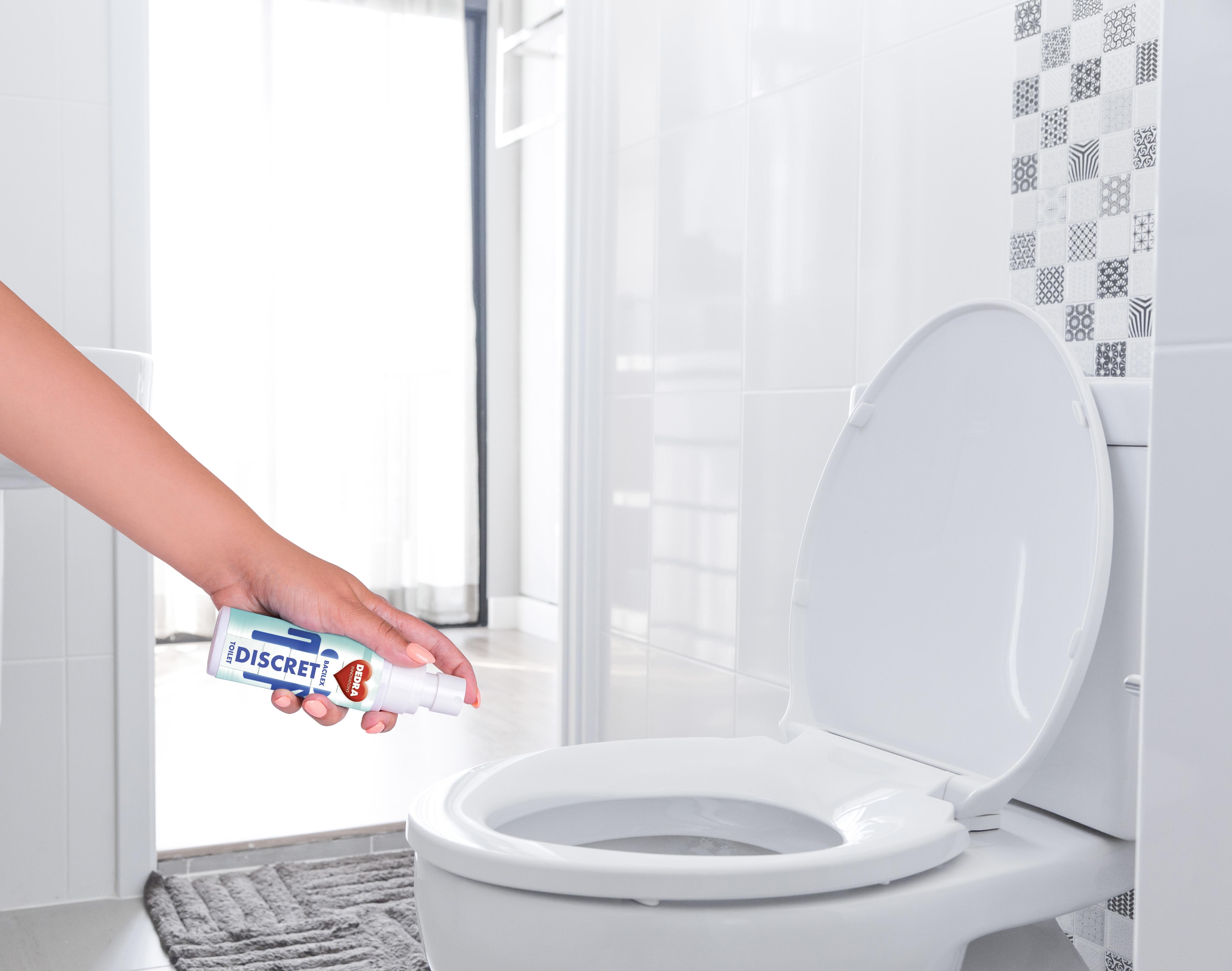 TOILETDISCRET BACILEX hygienický čistič toaletních WC sedátek