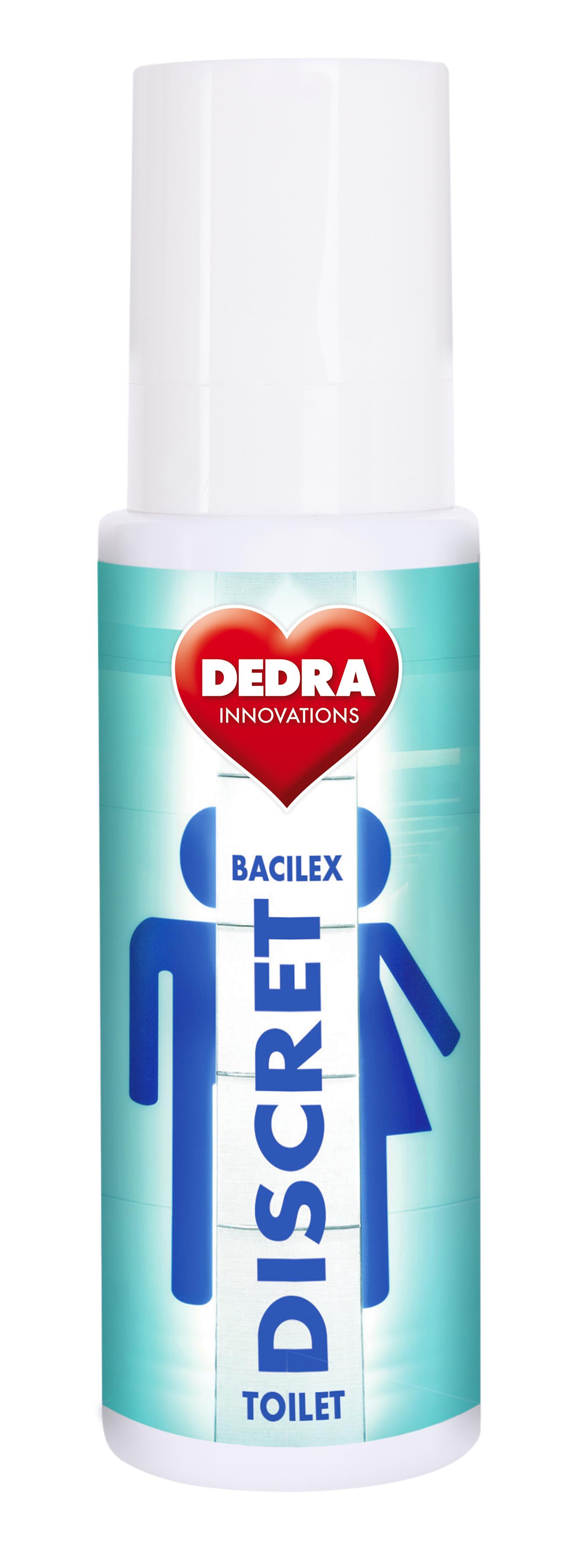 TOILETDISCRET BACILEX  spray 100 ml čistič toaletních WC sedátek