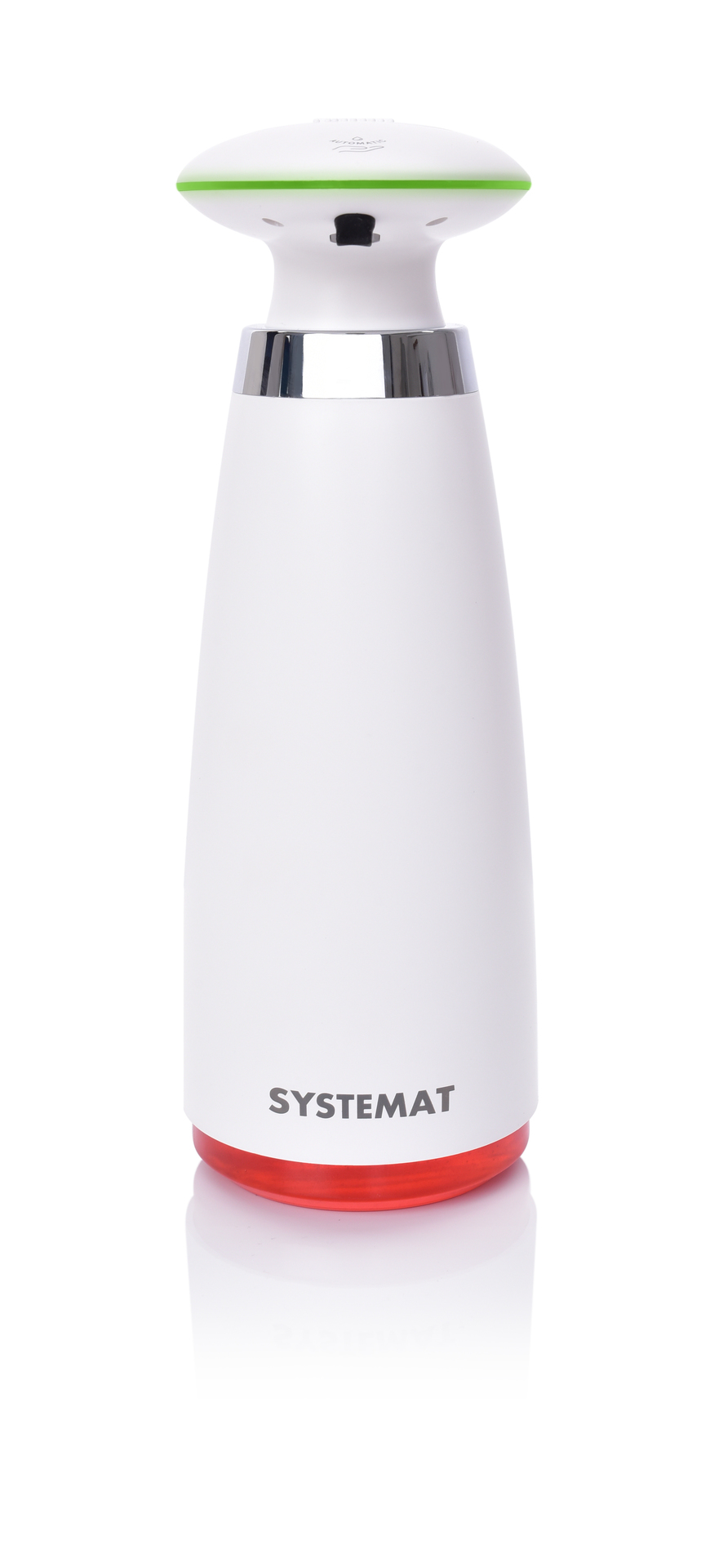 Bezdotykový dávkovač mýdel, šampónů a mycích prostředků SYSTEMAT