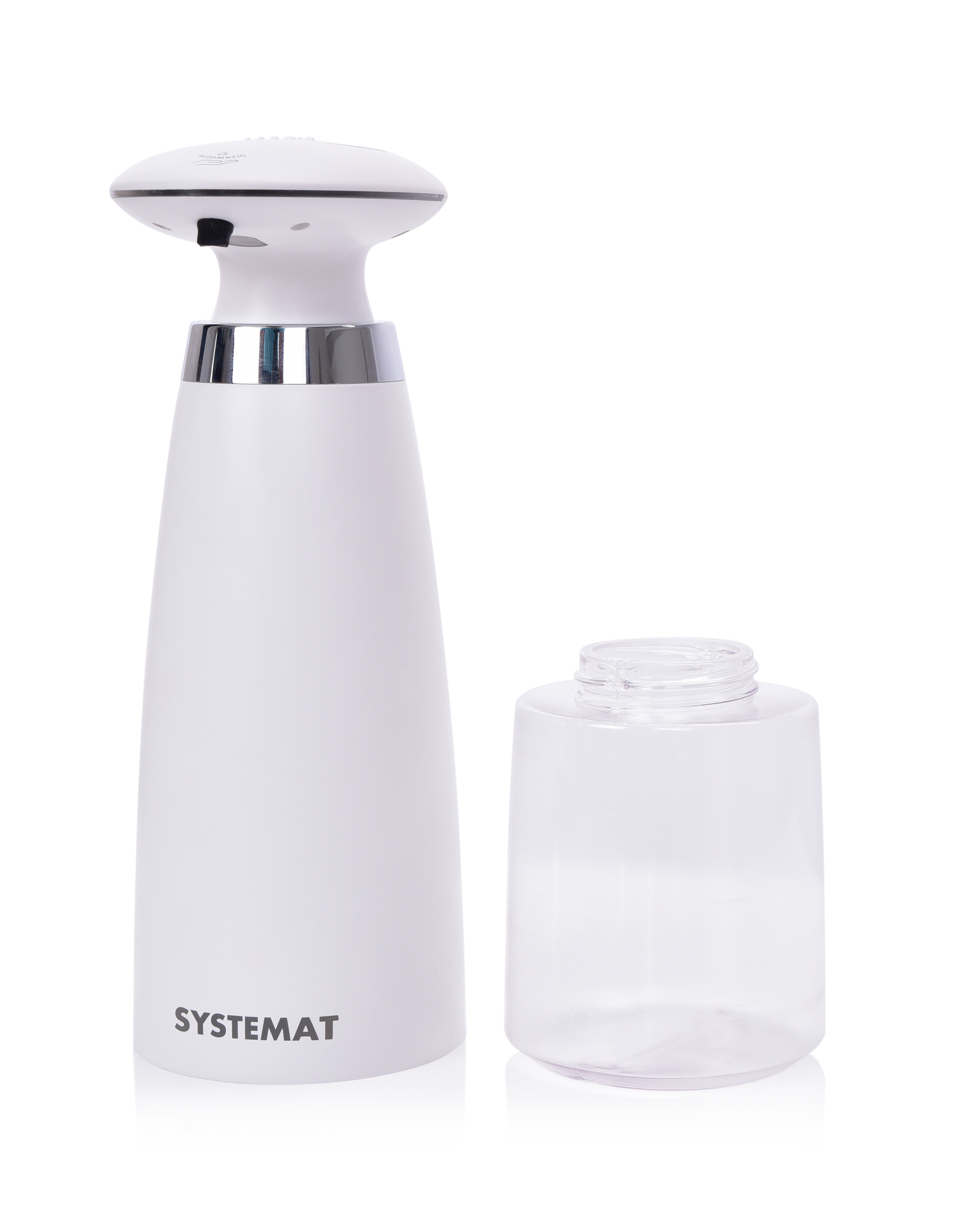 HYGIENICKÝ BEZDOTYKOVÝ automatický DÁVKOVAČ mýdla, šampónů a mycích prostředků
