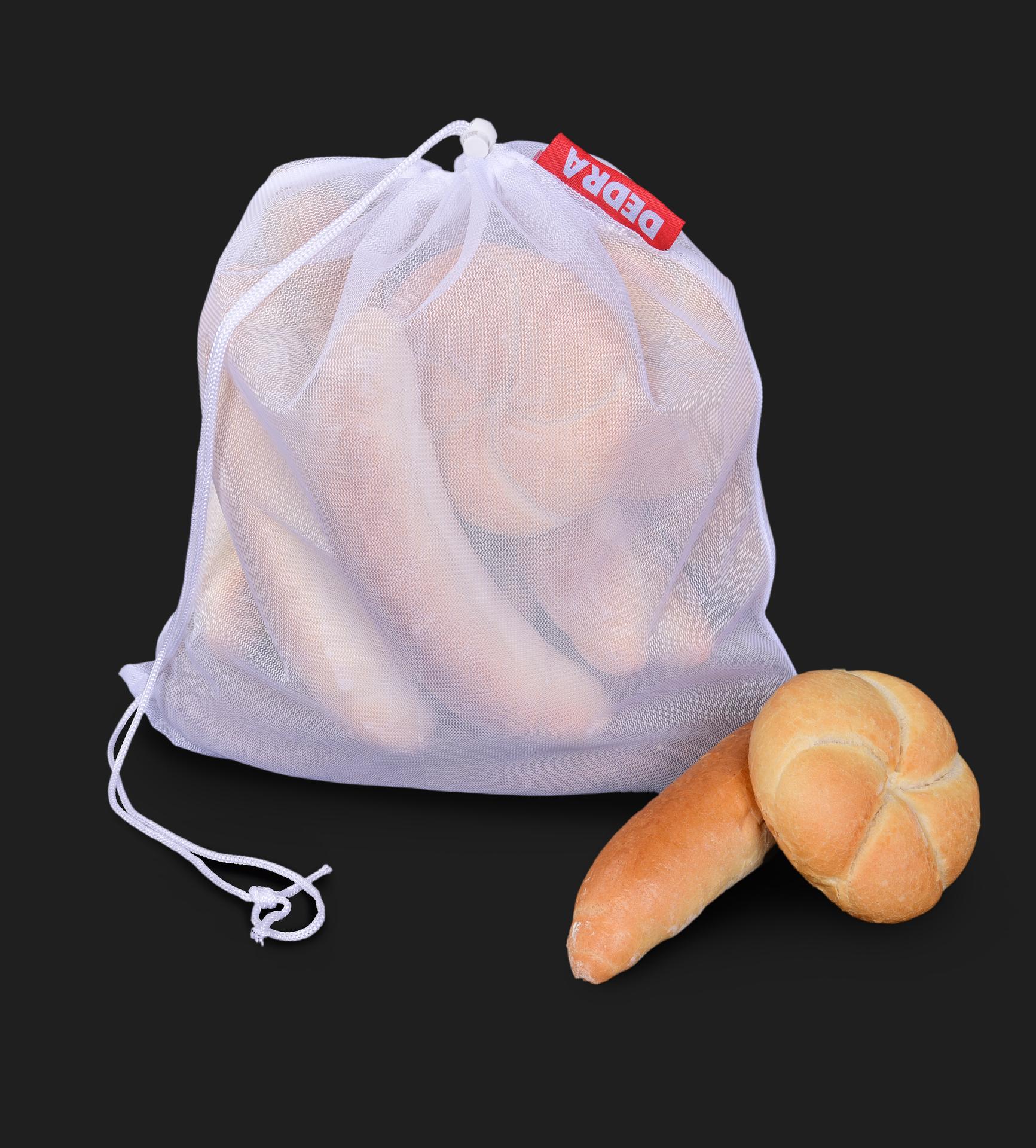1ks EKOPYTLÍK na potraviny - síťový sáček  na pečivo, zeleninu, ovoce