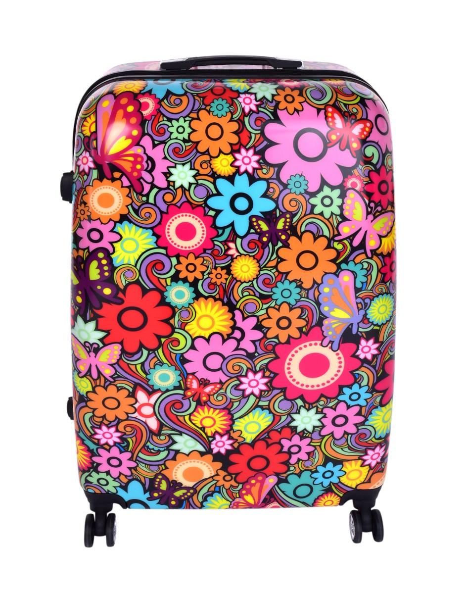 ce909829e0d87 TSA kufor veľký COLOR FLOWERS 50 x 30 x 70 cm | Dedraslovakia.sk
