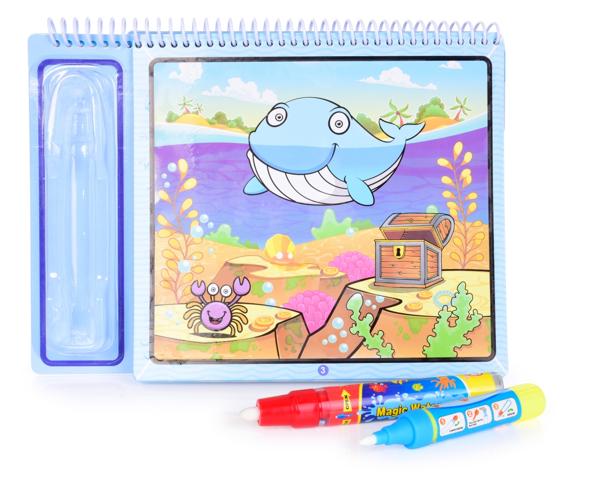 MARINE LIFE  kouzelná vodní knížka kreslící