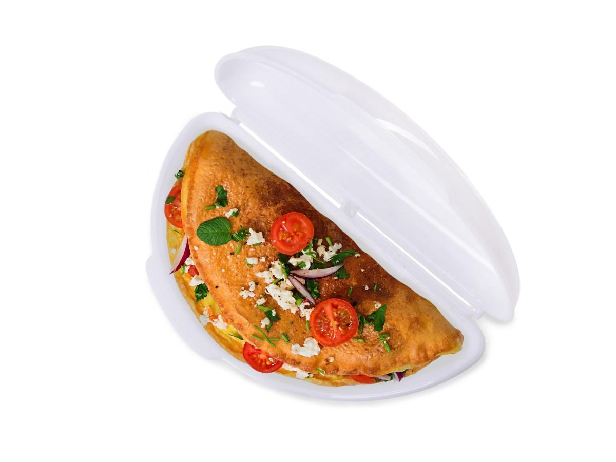 VEJCOVAR, forma na omelety do mikrovlnky