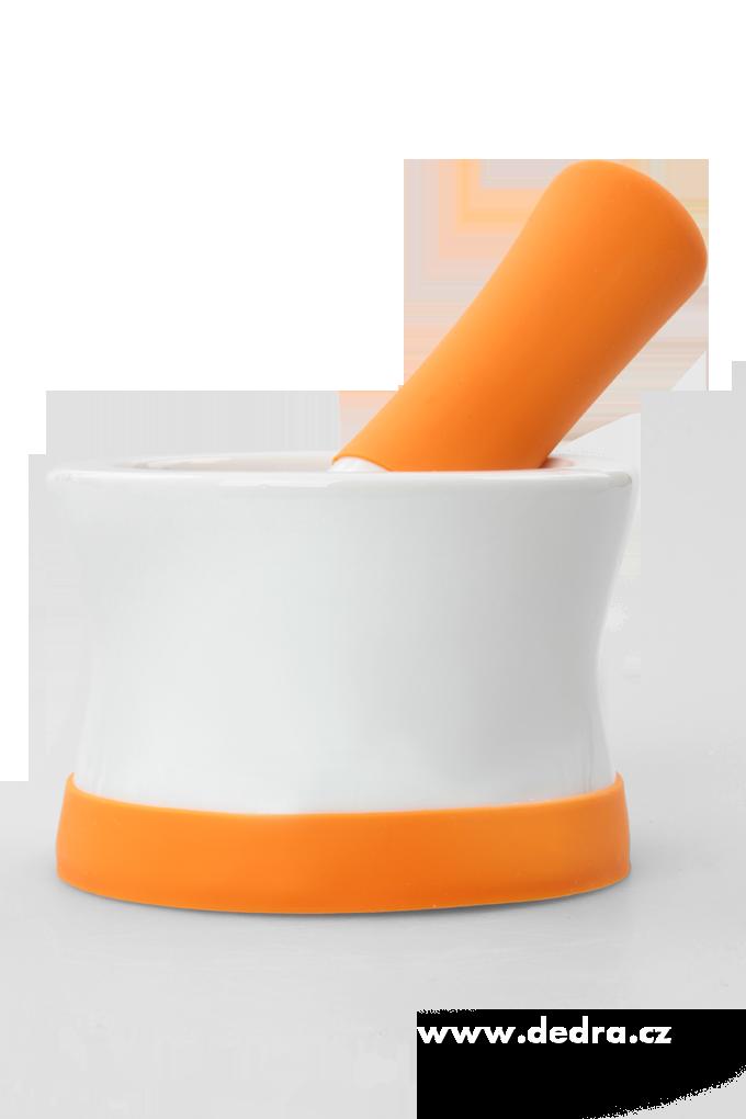 DA5489-Porcelánový Mažiar so silikónom