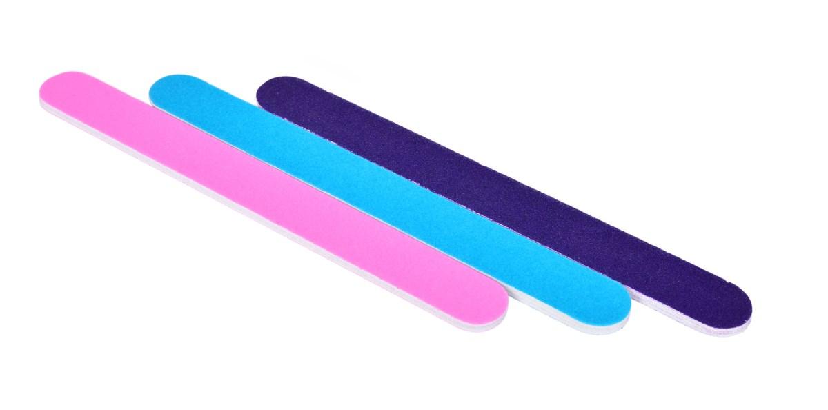 3 ks smirkový pilník, na nehty
