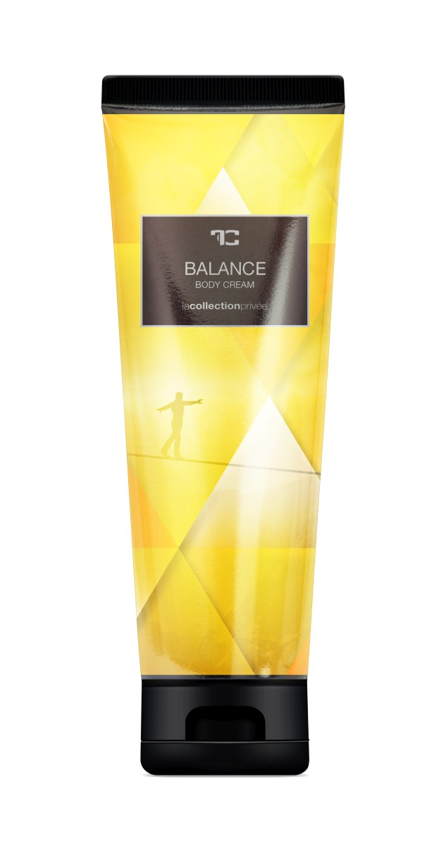 BODY CREAM balance, tělový krém s mandlovým olejem, LA COLLECTION PRIVÉE