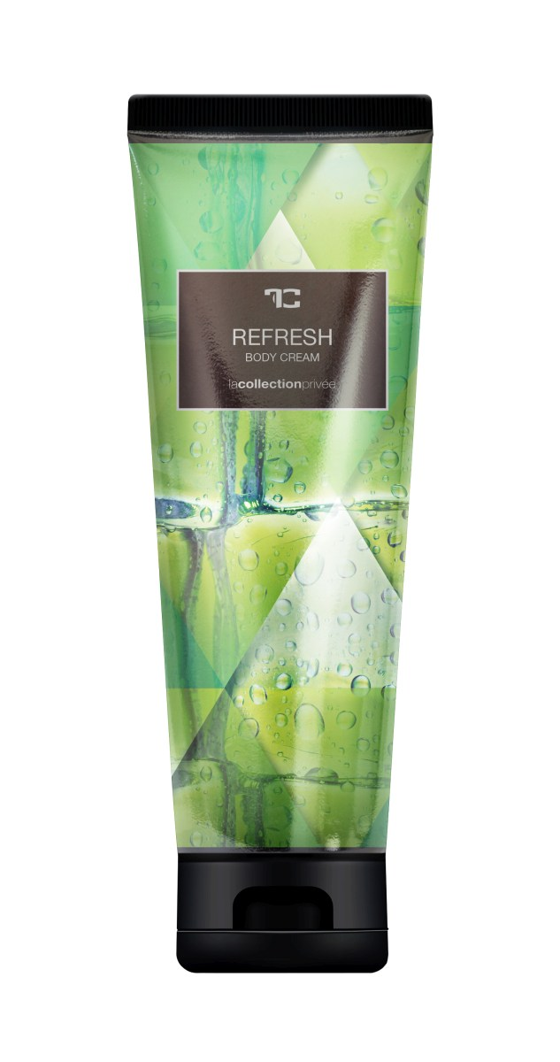 BODY CREAM refresh, tělový krém s mandlovým olejem, LA COLLECTION PRIVÉE